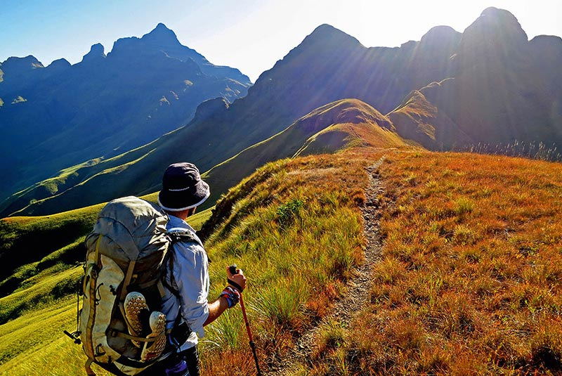 رشته کوه دراکنزبرگ در آفریقای جنوبی