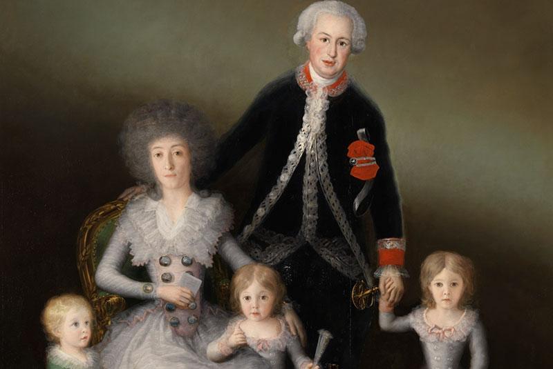 دوک و دوشس اوسونا و فرزندانشان
