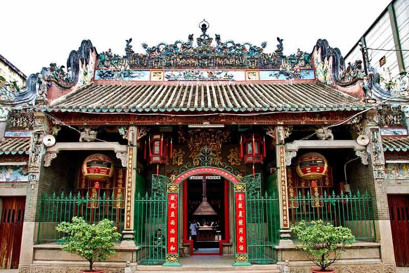معبد با تین هو در هوشی مین