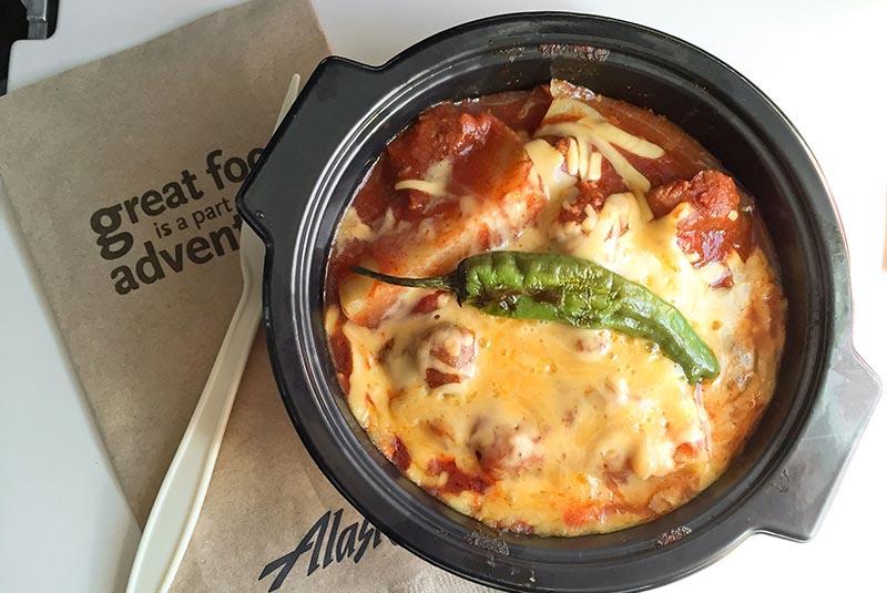 در هواپیما غذای گرم سفارش دهید