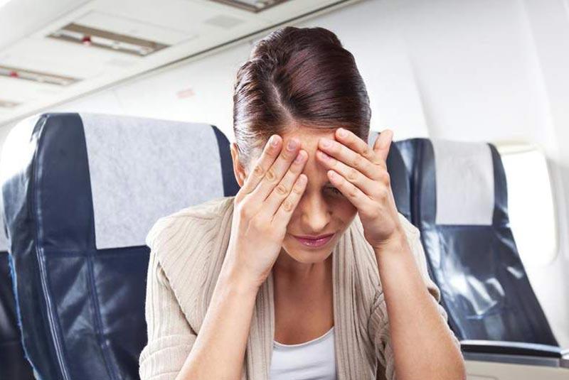 گریه کردن مسافران در هواپیما