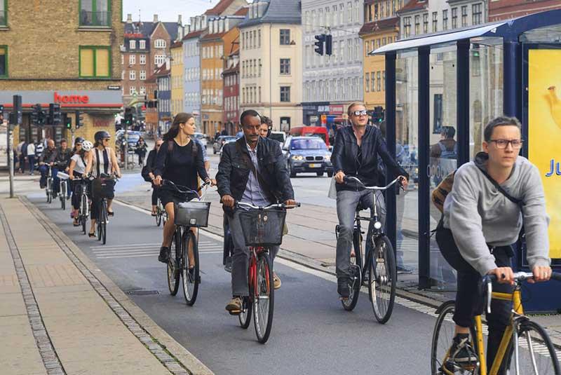 مسیرهای دوچرخه در آمستردام