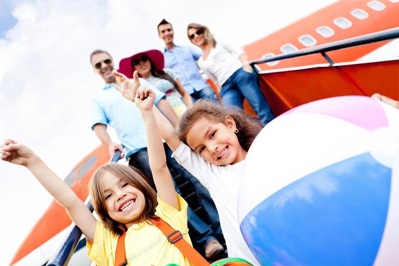 بلیت همه افراد را در یک برنامه سفر یکسان رزرو کنید