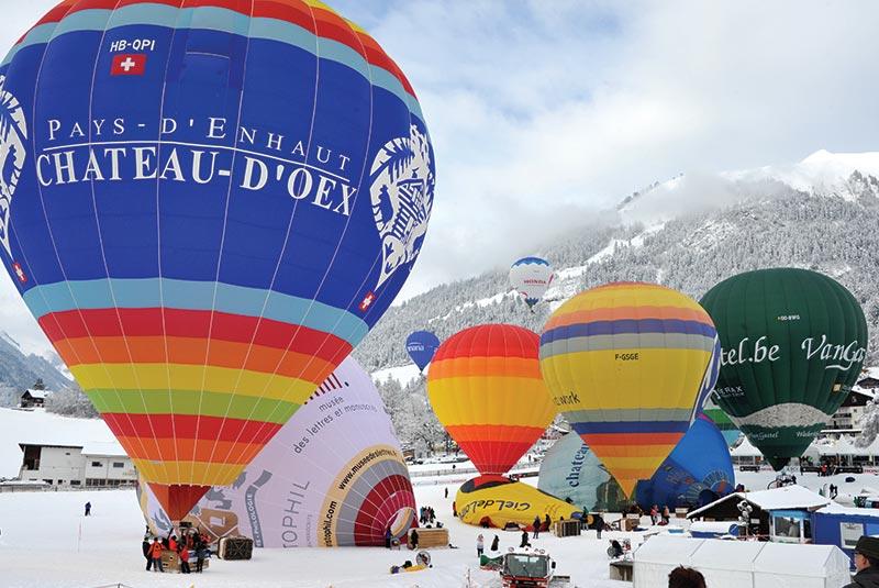جشنوارهی بالنها در سوئیس