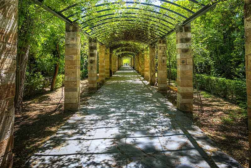 گشت و گذار در باغ ملی آتن
