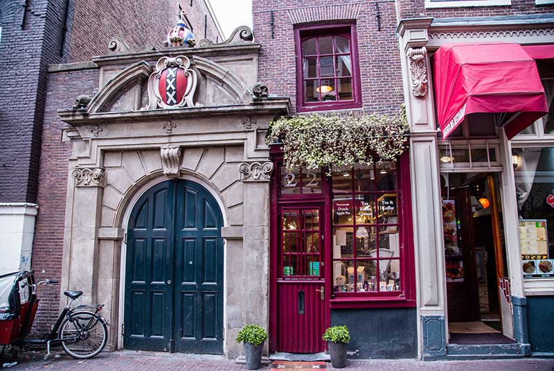 کوچک ترین خانه آمستردام