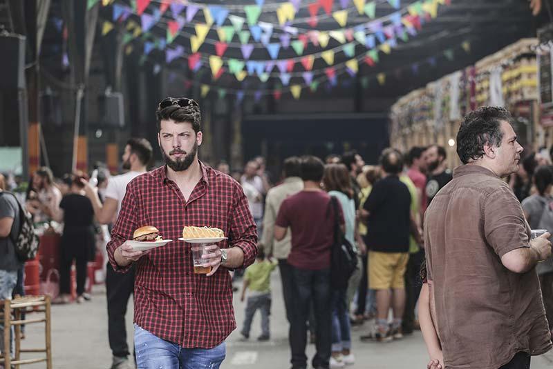 فستیوال غذاهای خیابانی آتن
