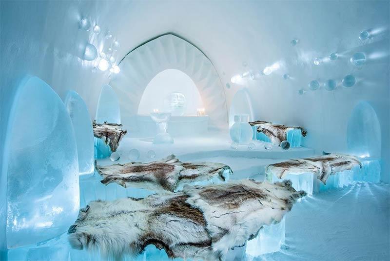 آیس هتل- یوکاسیِروی، سوئد