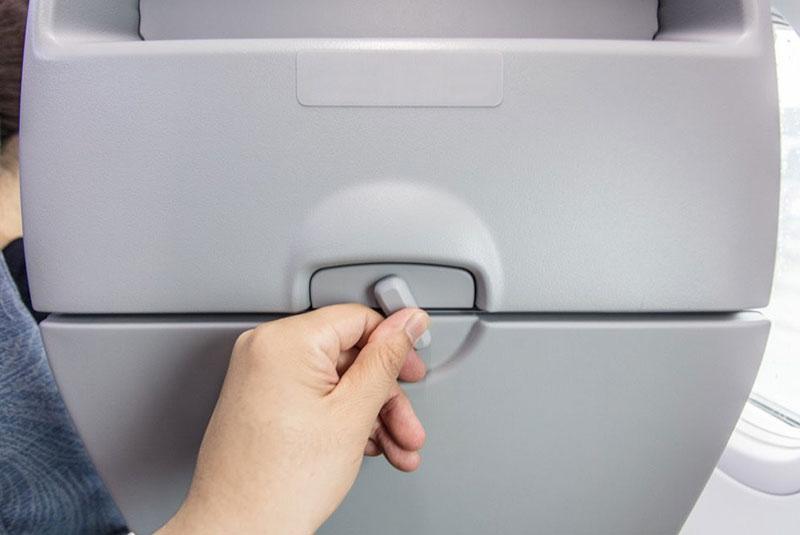 جلوگیری از بیمار شدن در هواپیما