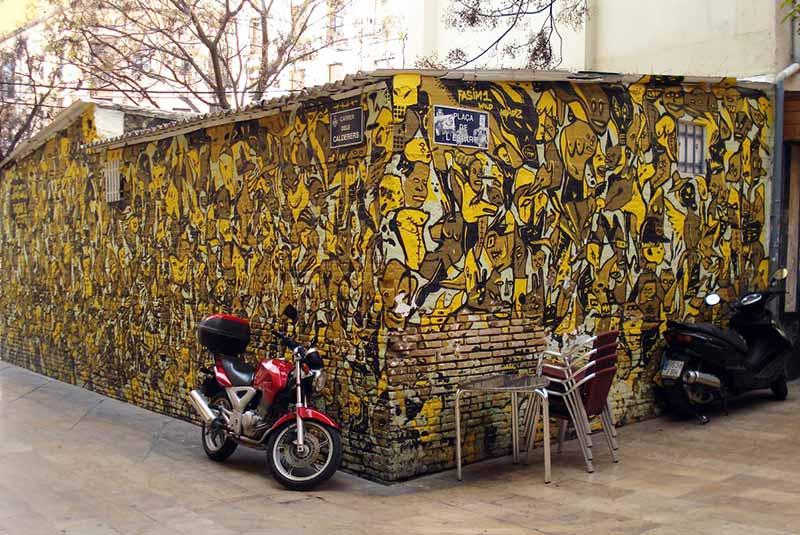 هنر خیابانی در ال کارمن