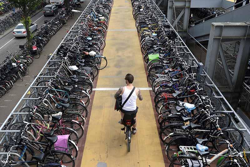 خرید دوچرخه در آمستردام