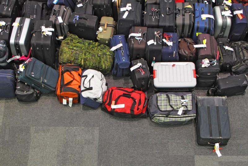گم شدن چمدان در پرواز