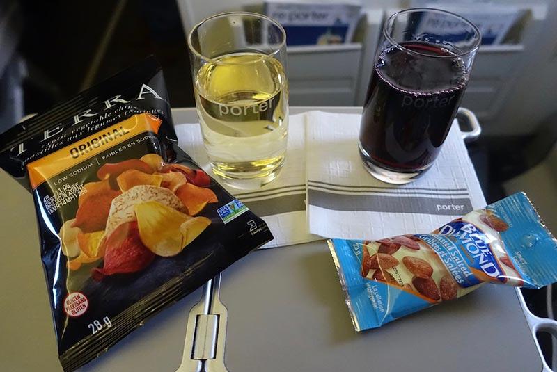 نوشیدنی و اسنک رایگان با پورتر ایرلاین