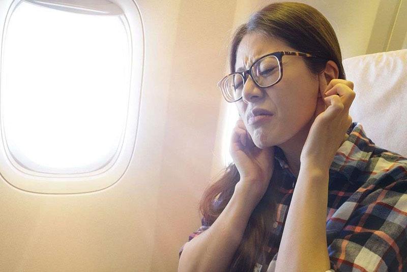 گوش درد در پرواز