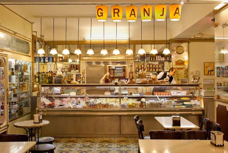 کافه های بارسلونا