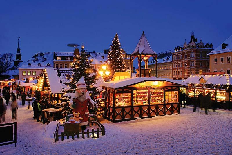 بازار کریسمس در سوئیس
