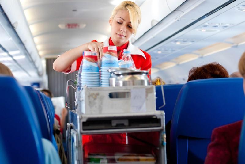 غذای هواپیما