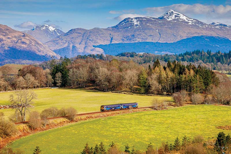 مسیر وست هایلند، گلاسگو به مالیگ، اسکاتلند