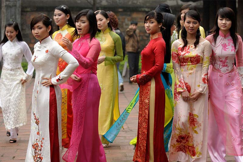 لباس و پوشش مردم ویتنام