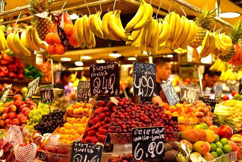 بازار بوکریا - بارسلون