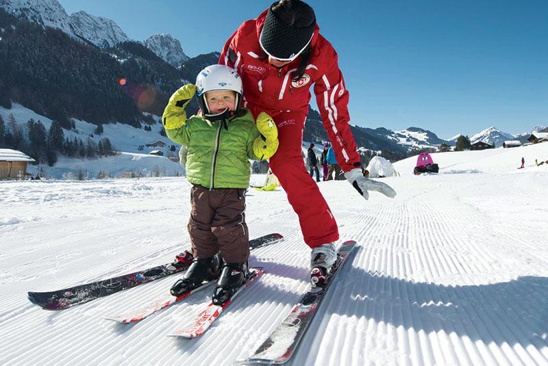اسکی در سوئیس