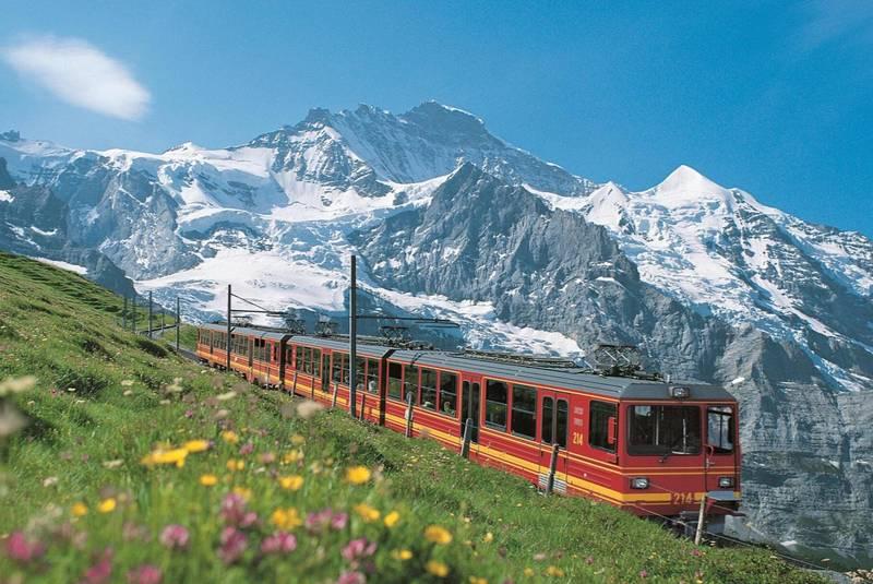 تفریحات اینترلاکن سوئیس