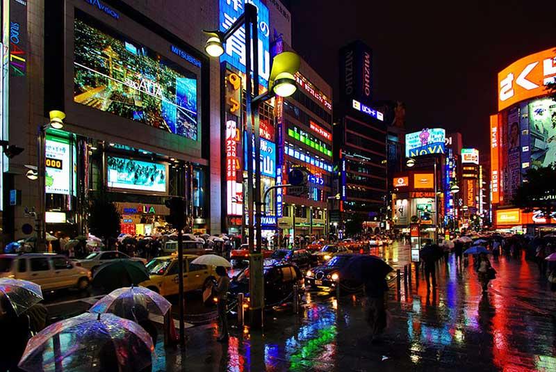 محله شینجوکو در توکیو