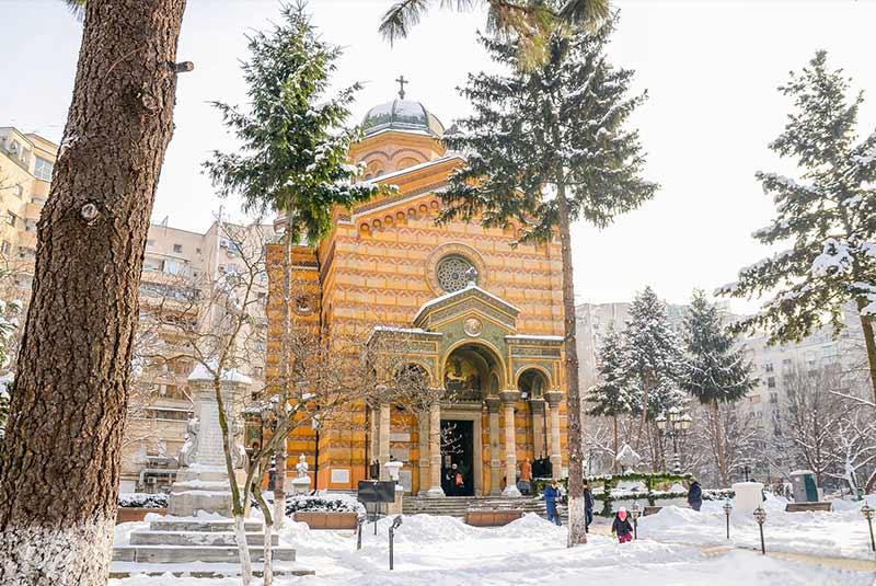 کلیسای دومنیتا بالاشا بخارست