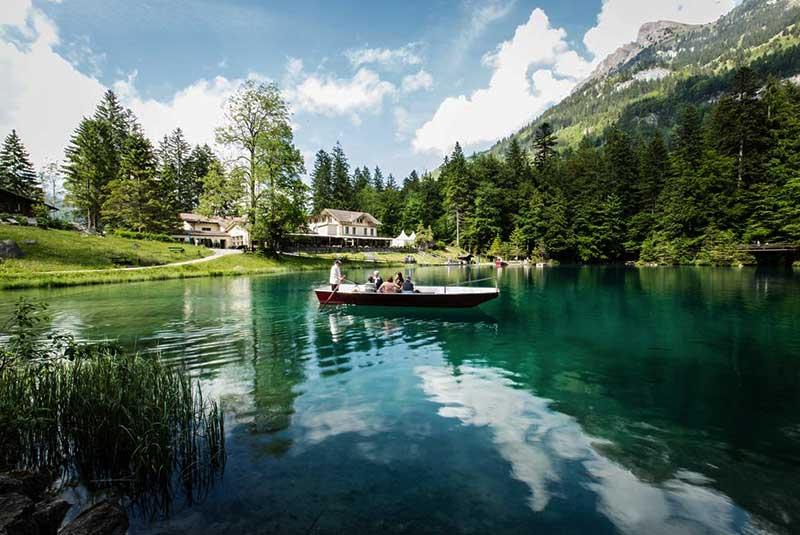 دریاچه بلاوزی سوئیس