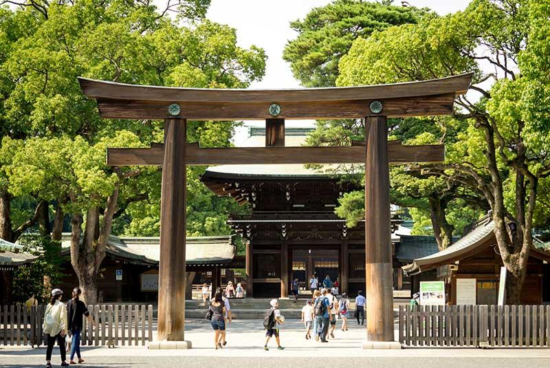 معبد میجی توکیو