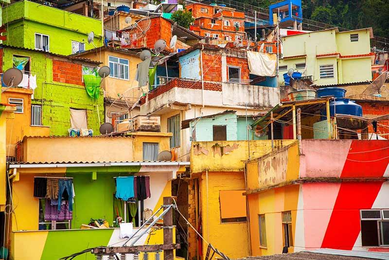 محله سانتا مارتا در ریودوژانیرو