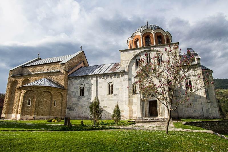 صومعه استودنیتسا صربستان