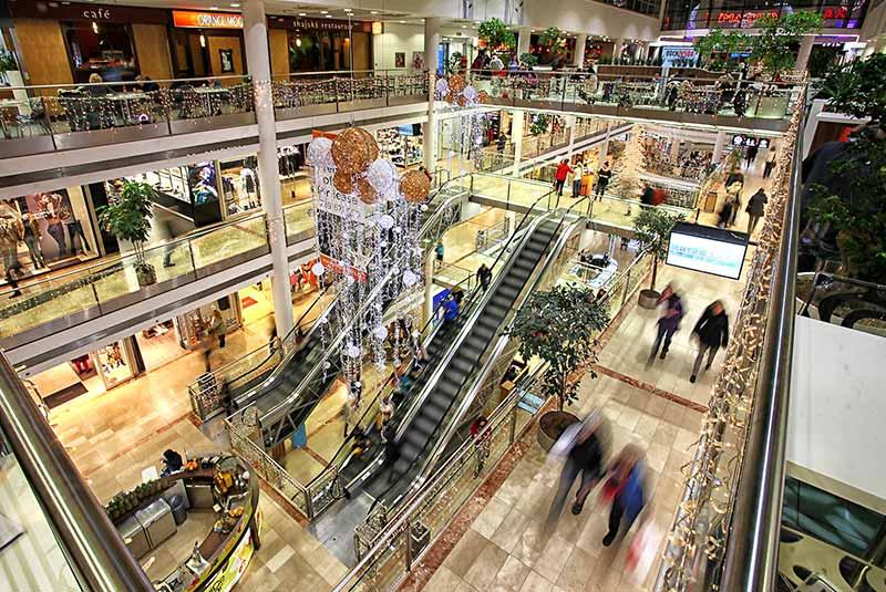 مراکز خرید پراگ