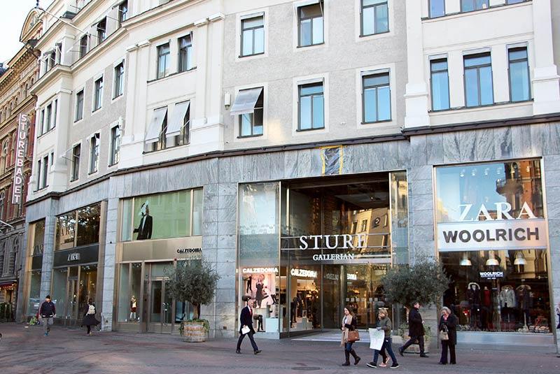 مراکز خرید استکهلم