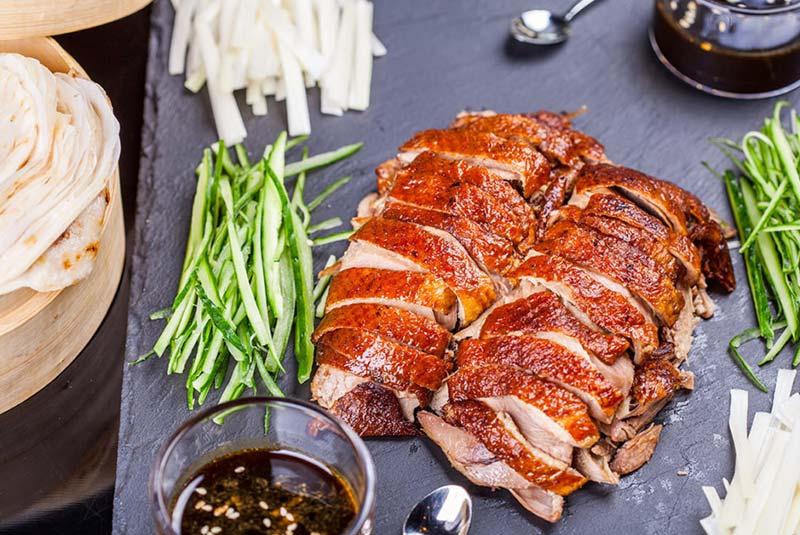 پکینگ داک - غذاهای سنتی چین