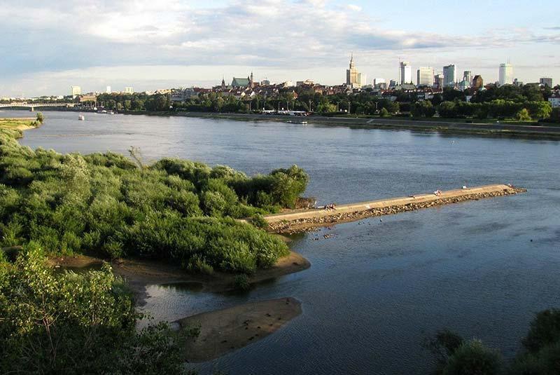 رودخانه ویستولا ورشو