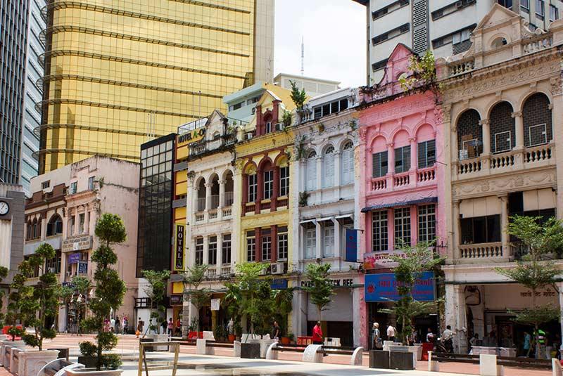 محله قدیمی کوالالامپور