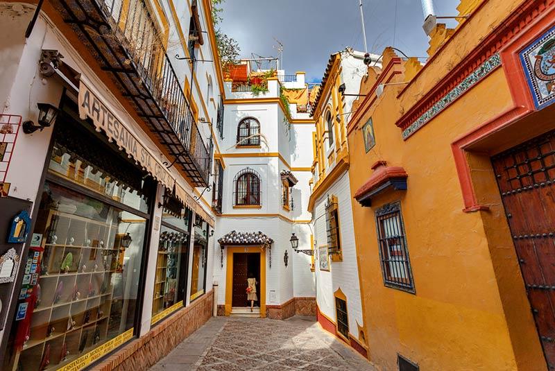محله سانتا کروز در سویل