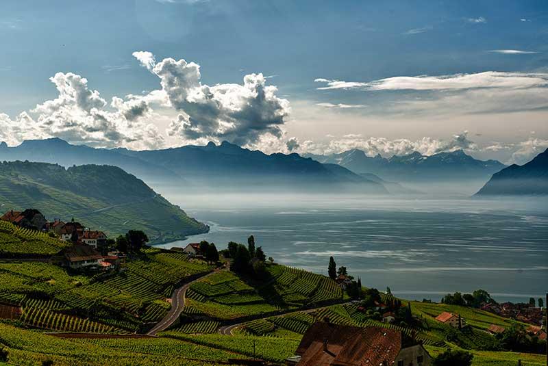 دریاچه ژنو سوئیس