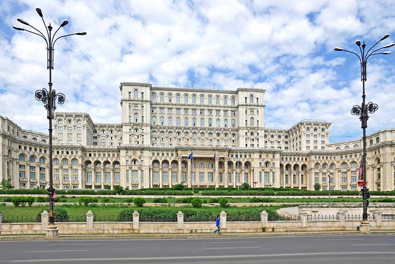 ساختمان پارلمان بخارست