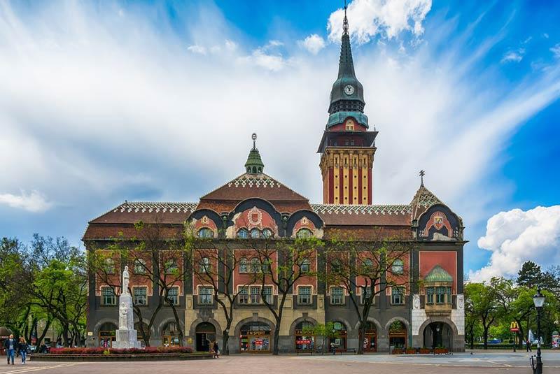 ساختمان شهرداری سوبتیتسا صربستان