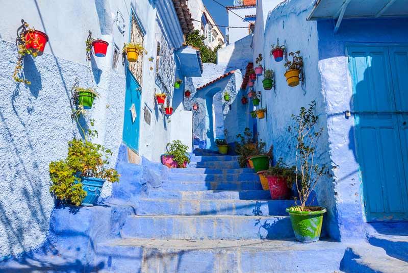 محله شفشاون مراکش