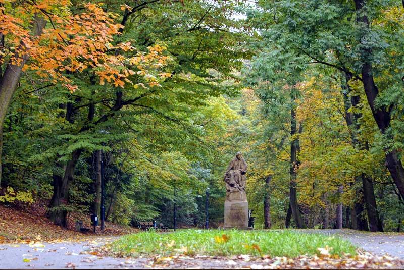 پارک پترینسکع سادی در پراگ