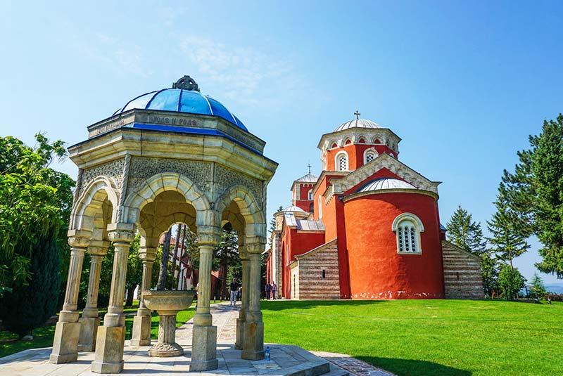 صومعه زیتسا صربستان