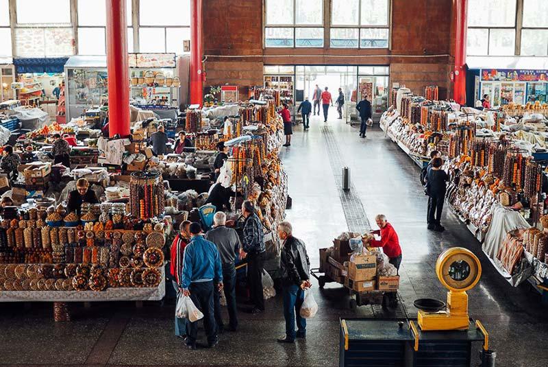 بازار گوم در ایروان