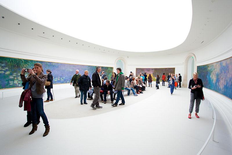 باغ تویلری پاریس - موزه اورنجری