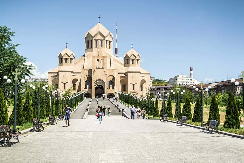 کلیسای سنت گریگور در ایروان