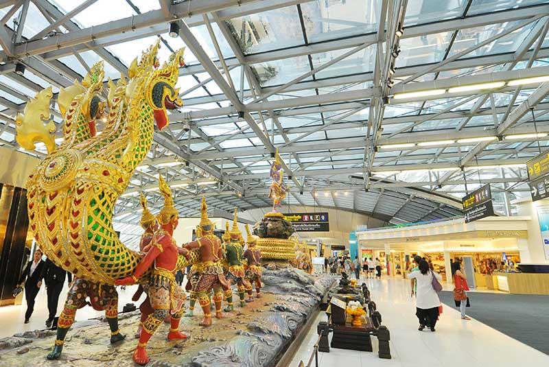 فرودگاه بین المللی سووارنابومی بانکوک