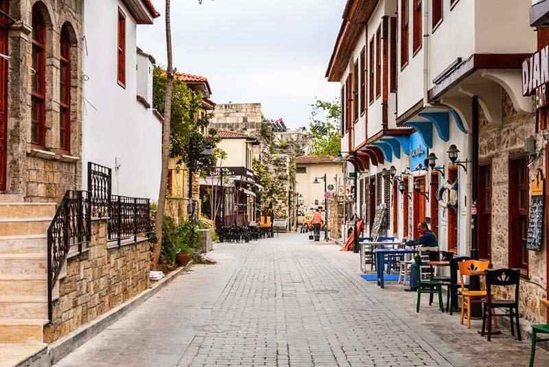محله کالیچی آنتالیا