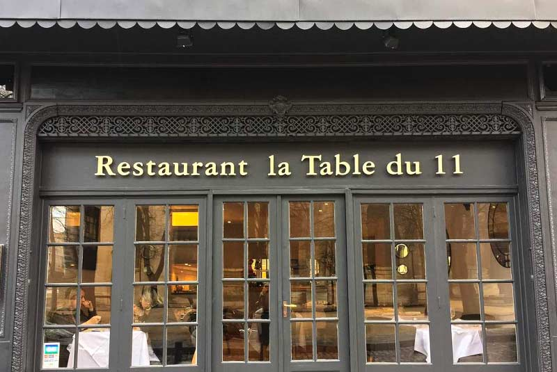 ارزان ترین رستوران های میشلن پاریس